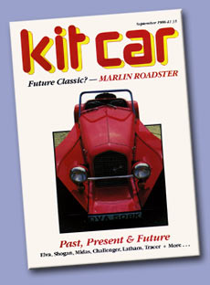 Kit Car Magazine, September 1986