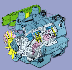 Triumph's award-winning 16-valve Sprint engine